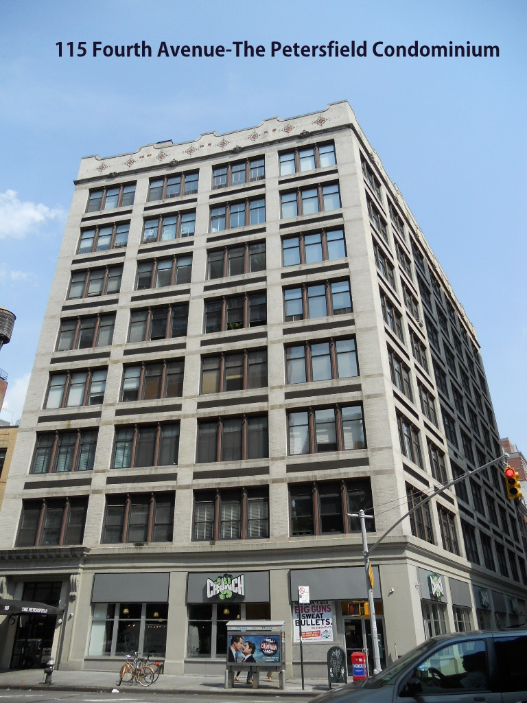 The Petersfield Condominium at 115 Fourth Avenue