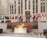 New York Rockefeller Center in Midtown Manhattan (SPRING)