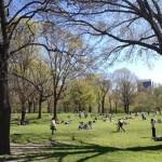 Beautiful Easter Sunday in Central Park