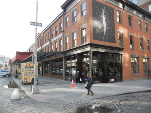 Meatpacking District Neighborhood - Corner of West 13th Street and Ninth Avenue